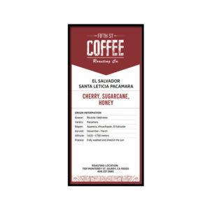 Fifth Street Whole Bean Coffee - 3LBS
