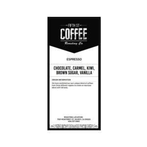 Fifth Street Whole Bean Coffee - 1LBS